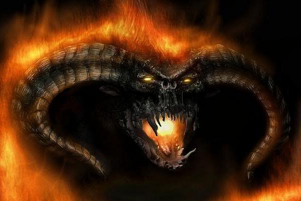 Барлог - огненный демон