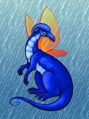 эфемерный иллюзавр дождь